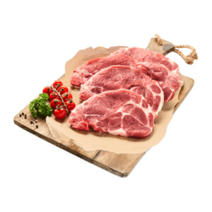 MEINE METZGEREI     XXL-Schweinenackenkotelett