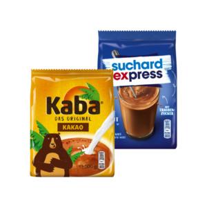 Kaba Kakao oder Suchard Express