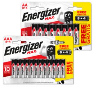 ENERGIZER Batterien MAX