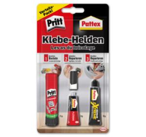 PRITT und PATTEX Klebehelden-Set