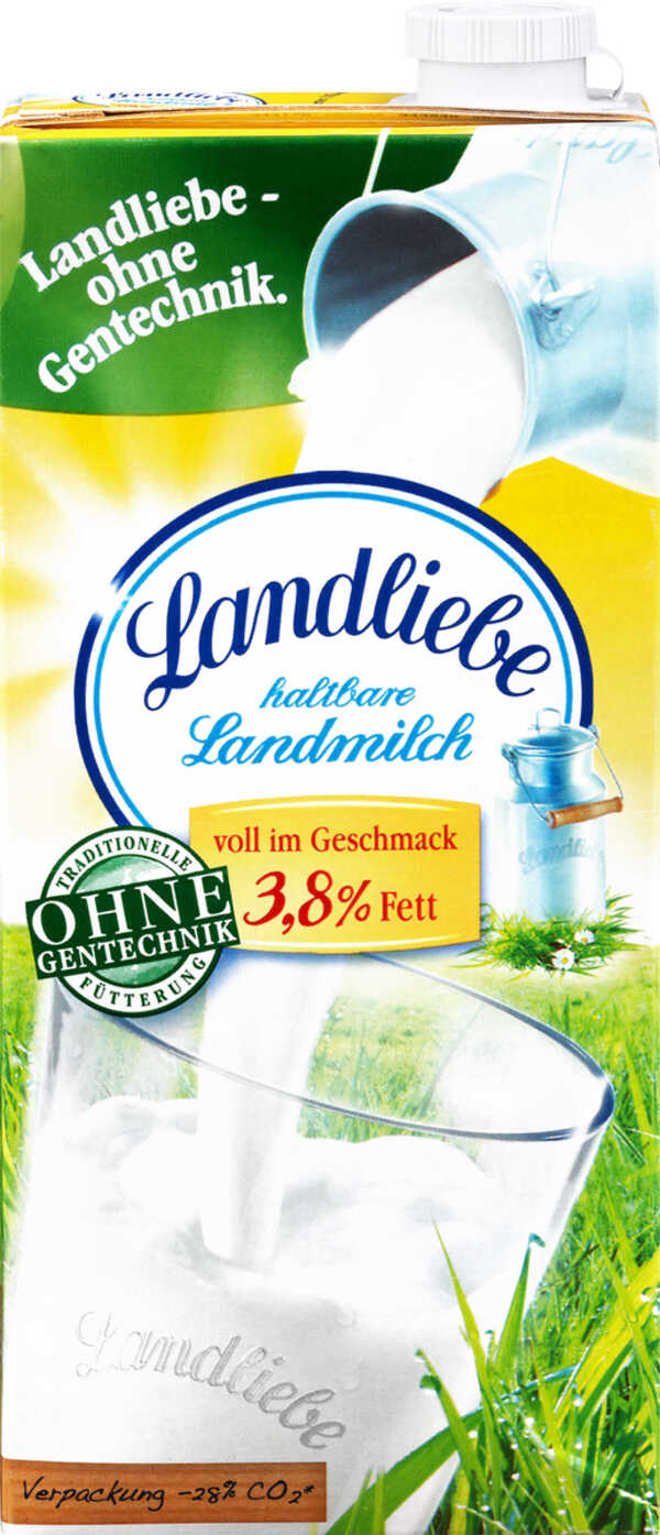 LANDLIEBE  Haltbare Landmilch