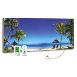 Infrarot-Heizpaneel Beach mit Thermostat