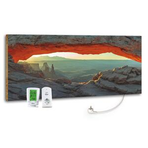 Infrarot-Heizpaneel Mountain View m. Thermostat