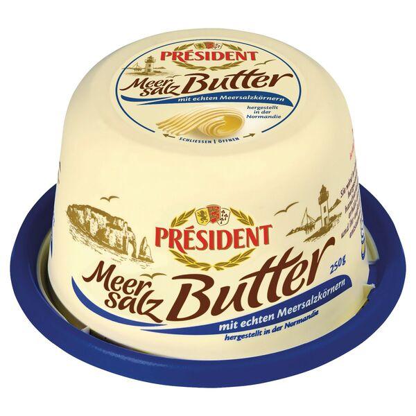 PRÉSIDENT Meersalz Butter 250 g
