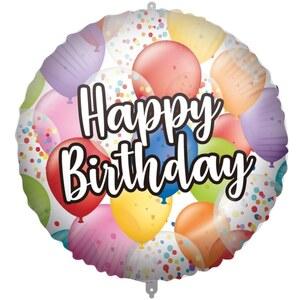 Happy Birthday Ballon 46cm