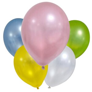 Metallic Balloons 8 Stück