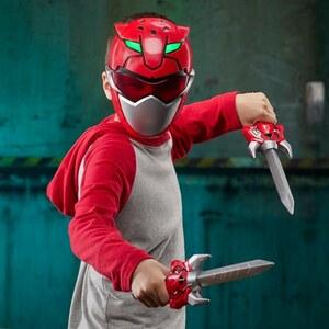 Power Rangers - Roter Ranger Trainingsset