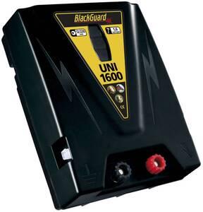 Weidezaungerät UNI 1600 12/230 Volt mit Tiefenentladeschutz BlackGuard