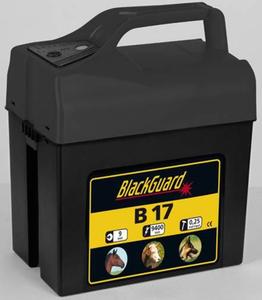 Weidezaungerät B17 9 Volt mit 2 Leistungsstufen BlackGuard