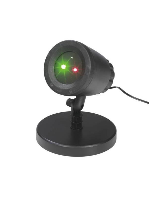 Laser Strahler -illuminiert Flächen bis zu 300 m² Easymaxx