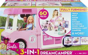 Barbie - 3-in-1 Abenteuer-Camper