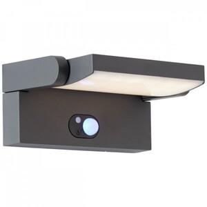 AEG LED Solar-Außenwandleuchte Grady ,  Bewegungssensor, Dämmerungssensor