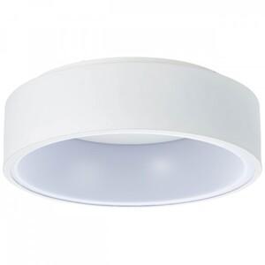 AEG LED Deckenleuchte Zondra ,  Ø 35 cm, sand/weiß