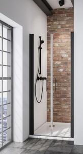 Schulte Pendeltür Nische Black Style Alexa Style 2.0 ,  90 x 192 cm, inkl. fixil-Beschichtung