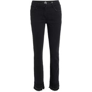 Damen Slim-Jeans mit Pailletten