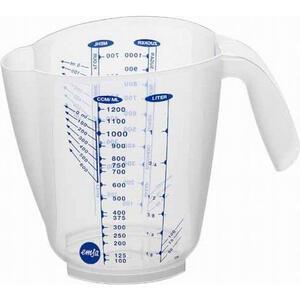 Emsa Messbecher , 504032 , Transparent , Kunststoff , Messskala für Flüssigkeiten, Messskala für Lebensmittel , 0032620291