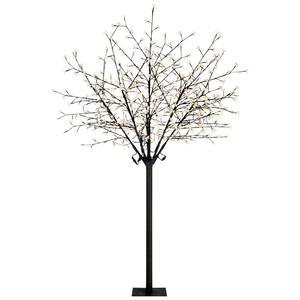 Ambia Garden Led-dekoleuchte , BIG Tree , Schwarz , Metall, Kunststoff , 220 cm , verzinkt , 008181032502