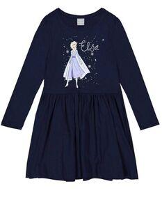 Mädchen Jerseykleid mit Eiskönigin-Print