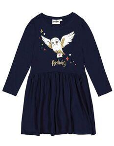 Mädchen Kleid mit Harry Potter-Print