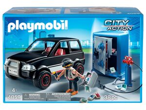 Playmobil »Tresorknacker mit Fluchtfahrzeug«