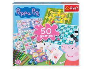 Trefl Spielesammlung »Peppa Pig« mit 50 Spielen