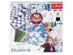 Trefl Spielesammlung »Frozen« mit 50 Spielen