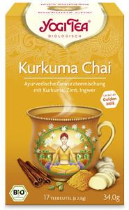 Yogi Tea Bio Kurkuma Chai 17ST 34G