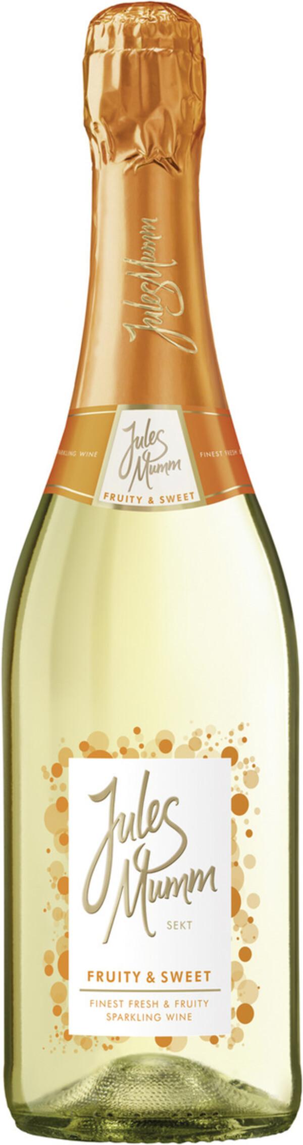 Jules Mumm Fruity & Sweet Sekt 0,75 ltr