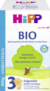 Hipp Bio Folgemilch 3 ab dem 10. Monat 800G