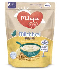 Milupa Kleine Genießer Milchbrei Grießbrei mit 6 Monaten 400G