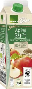 Edeka Bio Apfel Saft naturtrüb 1 ltr