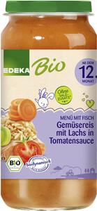 EDEKA Bio Gemüsereis mit Lachs in Tomatensauce ab dem 12.Monat 250g