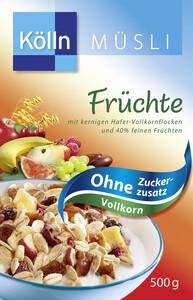 Kölln Müsli Früchte ohne Zuckerzusatz 500 g