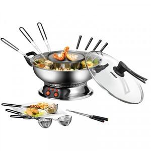Unold Asia-Fondue ,  Gesundes Fondue für Fleisch, Fisch, Gemüse