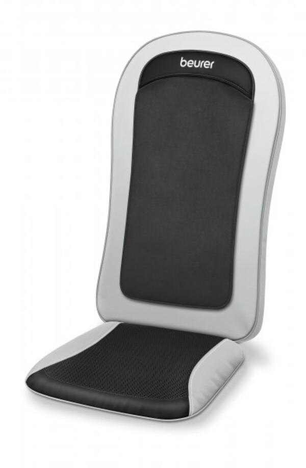 Beurer Shiatsu Sitzauflage MG 201 ,  Sitzmassagematte, 3 Programme
