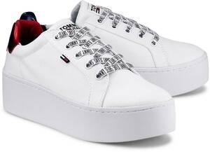 Tommy Jeans, Plateau-Sneaker in weiß, Sneaker für Damen