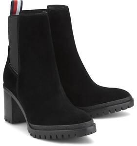 Tommy Hilfiger, Chelsea-Stiefelette in schwarz, Boots für Damen
