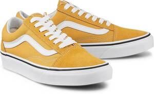 Vans, Sneaker Old Skool in gelb, Schnürschuhe für Damen