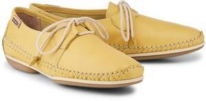 Pikolinos, Schnürer Roma in gelb, Schnürschuhe für Damen