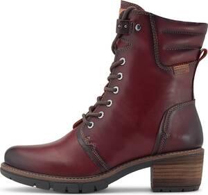 Pikolinos, Schnür-Stiefelette San Sebastian in rot, Boots für Damen
