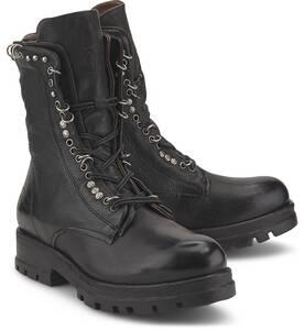 A.S. 98, Schnür-Boots in schwarz, Stiefeletten für Damen
