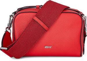 Abro, Umhängetasche Boxy Small in rot, Umhängetaschen für Damen