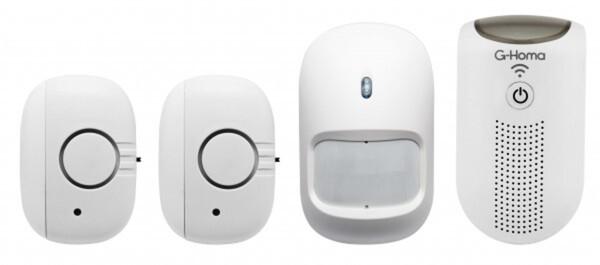 GAO G-Homa WiFi Mini-Alarm Kit weiß
