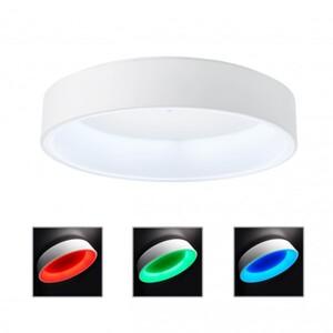 AEG LED Deckenleuchte Zondra Ø 50 cm, RGB, sand/weiß