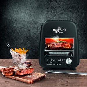 Gourmetmaxx Elektro Beef Grill 1200 Watt, bis 850 Grad