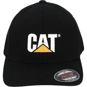 """CAT              Kappe """"Flexfit"""", schwarz, Gr. S+M"""