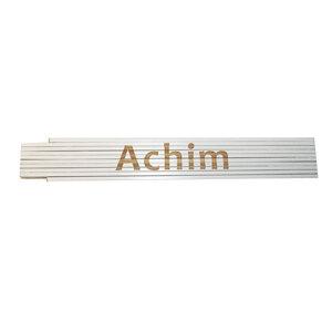 """Meterstab """"Achim"""", 2m, weiß"""