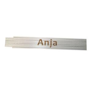 """Meterstab """"Anja"""", 2m, weiß"""