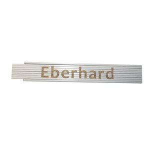 """Meterstab """"Eberhard"""", 2m, weiß"""