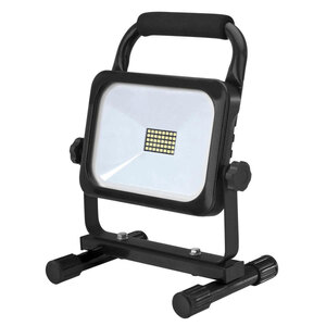 Unitec              LED Akku-Strahler, 20W, 1600lm, schwarz